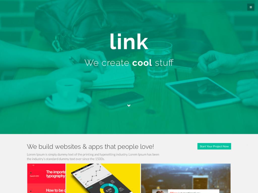 Link WordPress Theme