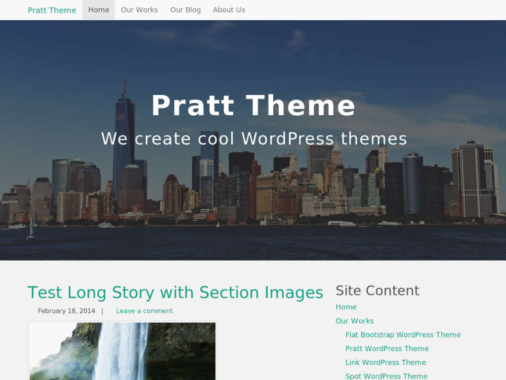 Pratt WordPress Theme